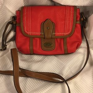 BOC leather bag used once Excellent condition fun!